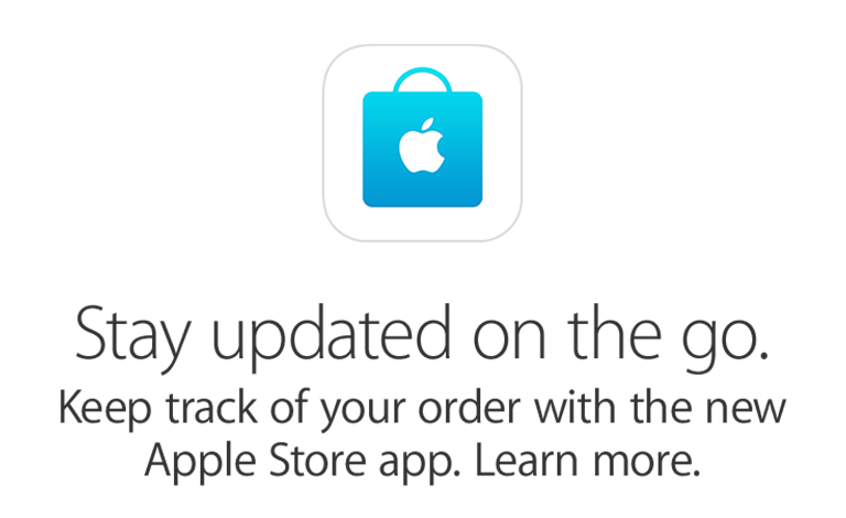 Get the Apple Store App